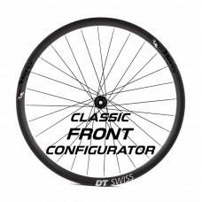 Custom Handbuilt Classic FRONT Wheel Configurator