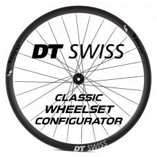 DT Swiss Custom Handbuilt Classic Wheelset Configurator
