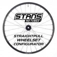 Stan's No Tubes ZTR Custom Handbuilt Straightpull Wheelset Configurator