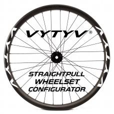 VYTYV Custom Handbuilt Straightpull Wheelset Configurator