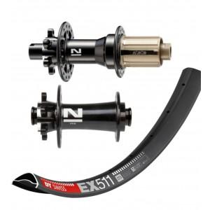 "DT Swiss EX511 27,5"" 650b / Novatec D791SB D792SB 1695g wheelset"