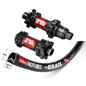 Stan's No Tubes ZTR Grail 700C / DT Swiss 240s IS Straightpull 1595g wheelset