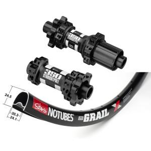 Stan's No Tubes ZTR Grail 700C / DT Swiss 350 IS Straightpull 1635g wheelset