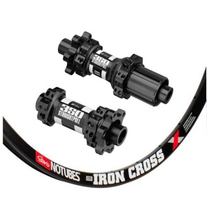 Stan's No Tubes ZTR Iron Cross 700C / DT Swiss 350 IS Straightpull 1485g wheelset