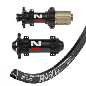 DT Swiss R460 Disc / Novatec D411CB D412CB Straightpull wheelset 1540g