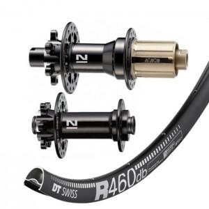 DT Swiss R460 Disc / Novatec 791/792 wheelset 1645g