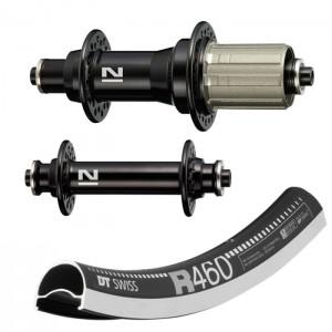 DT Swiss R460 / Novatec A291 / F482 wheelset 1500g