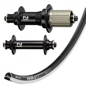 DT Swiss RR411 / Novatec A291 / F482 wheelset 1450g