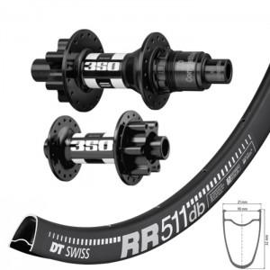 DT Swiss RR511 Disc / DT Swiss 350 IS wheelset 1795g