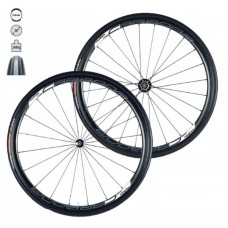 Tufo Carbona 30 Tubular black wheelset + Hi-Composite Carbon Tubular tires
