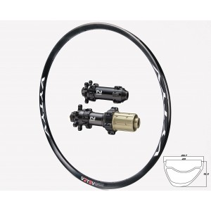 VYTYV GCX GRAVEL-CYCLOCROSS / Novatec 411/412SB Straightpull wheelset approx. 1520g on the lightest spokes
