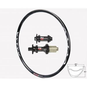 VYTYV GCX GRAVEL-CYCLOCROSS / Novatec 411/412CB Straightpull wheelset approx. 1510g on the lightest spokes
