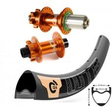 """WTB Ci24 Carbon 27,5"""" 650b TCS / Hope Pro 4 wheelset 1560g"""