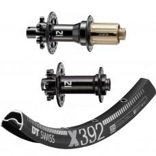 """DT Swiss X392 29"""" / Novatec 791/792 1630g wheelset"""