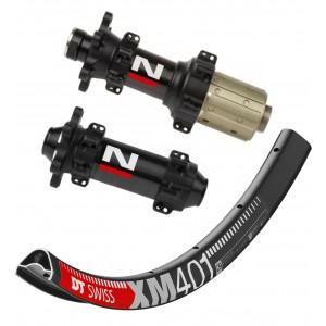 """DT Swiss XM401 29"""" / Novatec D411CB / D412CB Straightpull 1555g wheelset"""