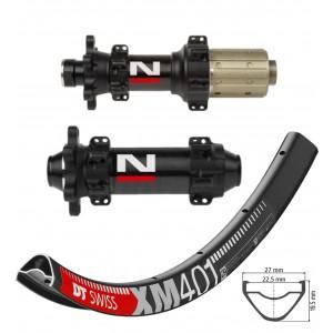 """DT Swiss XM401 29"""" / Novatec D411CB / D412CB Carbon Straightpull 1570g wheelset"""