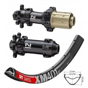 """DT Swiss XM401 29"""" / Novatec D411SB / D412SB Straightpull 1580g wheelset"""