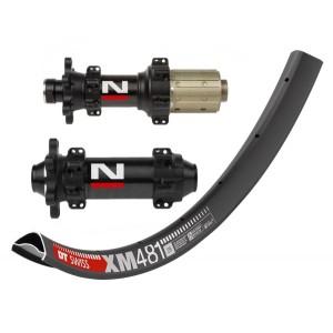 """DT Swiss XM481 29"""" / Novatec D411CB / D412CB Straightpull 1685g wheelset"""