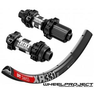 """DT Swiss XR331 29"""" / DT Swiss 350 CL Straightpull wheelset around 1480g on the lightest spokes"""