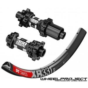 """DT Swiss XR331 29"""" / DT Swiss 350 IS Straightpull 1480g wheelset"""