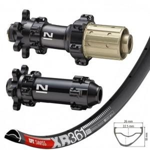 """DT Swiss XR361 29"""" / Novatec D411SB / D412SB Straightpull 1480g wheelset"""