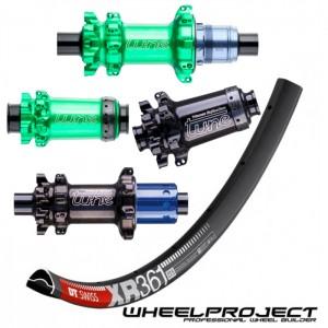 "DT Swiss MTB 29"" wheelset with Tune Straightpull hubs"