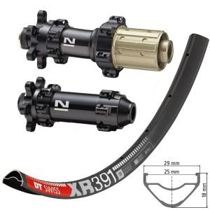 """DT Swiss XR391 29"""" / Novatec D411SB / D412SB Straightpull 1505g wheelset"""