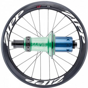 ZIPP Carbon road rear wheel with TUNE hub