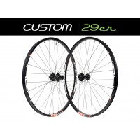 "Custom Handbuilt MTB 29"" Wheels"