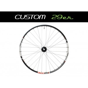 "Custom Handbuilt MTB Front 29"" Wheel"