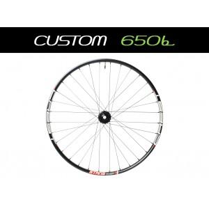 """Custom Handbuilt MTB Rear 27,5"""" (650b) Straightpull Wheel"""